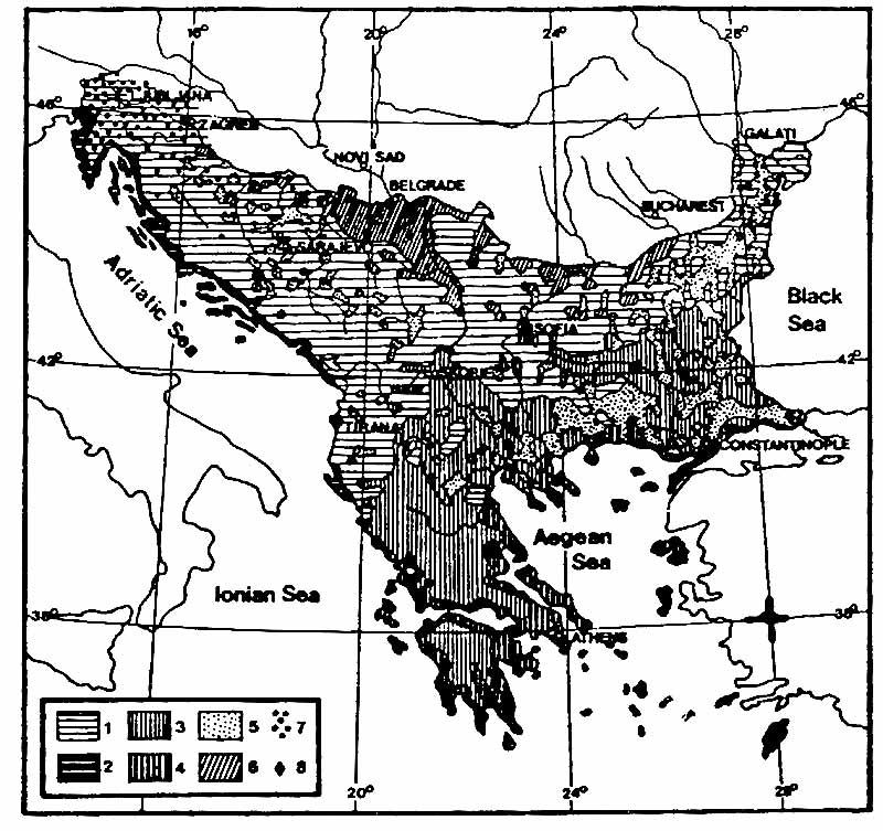 Projekat Rastko] - Jovan Ilic - The Balkan Geopolitical Knot ... on map of eurasia, map of albania, map of haiti, map of yugoslavia, map of spain, map of middle east, map of montenegro, map of ottoman empire, map of europe, map of caucasus, map of crete, map of ukraine, map of bulgaria, map of pyrenees, map of greece, map of arabian peninsula, map of croatia, map of iberian peninsula, map of moldova, map of baltics,