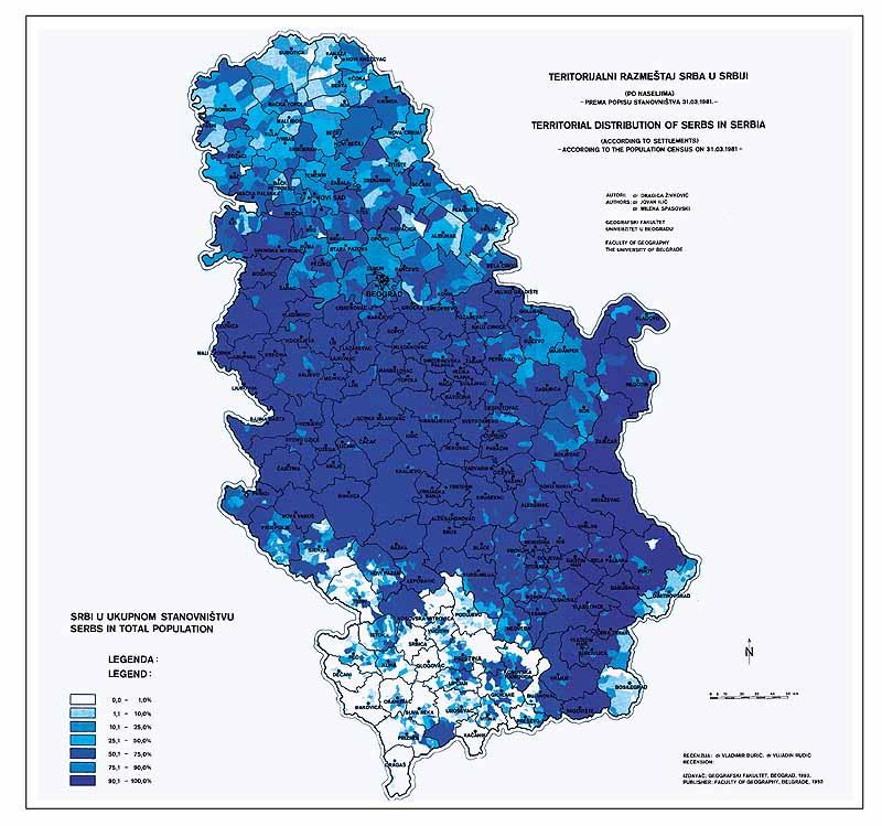 Projekat Rastko Svetlana Radovanovic Demographic Growth And