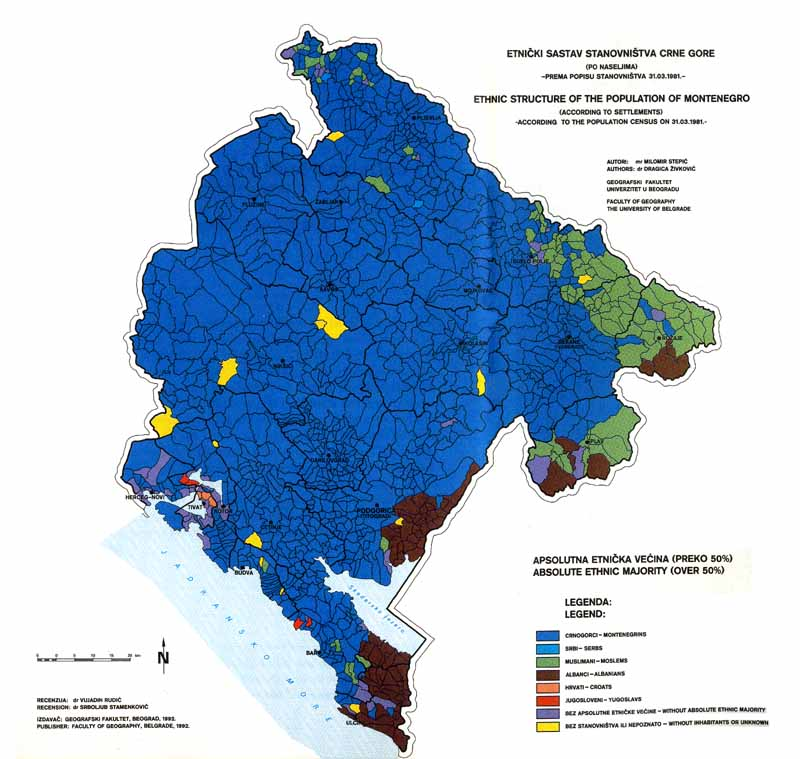 Projekat Rastko Vujadin Rudic The Ethnic Structure Of The