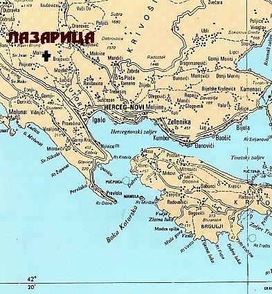 Herceg mapa katastar novi ARHiNET